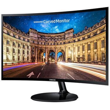 """Монитор 23.5"""" Samsung C24F390FHI черный VA LED 16:9 HDMI матовая 250cd 178гр/178гр 1920x1080 D-Sub F"""