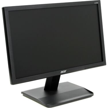 "Монитор 18,5"" Acer VA190HQb черный TN+film LED 5ms 16:9 матовая 200cd 1366x768 D-Sub HD READY 2.68кг"