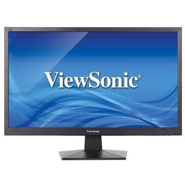 """Монитор 23.6"""" ViewSonic VA2407H Black (LED, 1920x1080, 5 ms, 170°/160°, 250 cd/m, 20M:1, +HDMI)"""