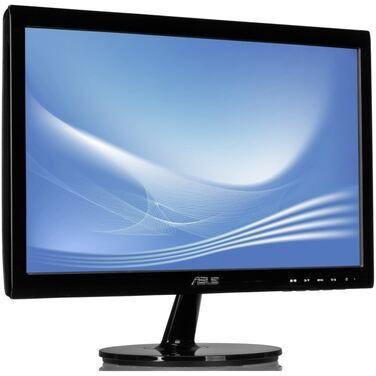 """Монитор 18.5"""" Asus VS197DE черный TN+film LED 5ms 16:9 матовая 200cd 1366x768 D-Sub"""