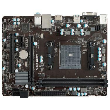 Материнская плата Soc-FM2+ MSI A68HM-E33 V2 AMD A68H 2xDDR3 mATX AC`97 8ch(7.1) GbLAN RAID RAID1 RT
