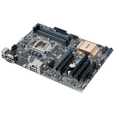 Материнская плата Soc-1151 Asus B150-PLUS B150/4*DDR4/2*PCI-E/ALC887/GLAN/USB3.1/Type-C/D-SUB/DVI-D/