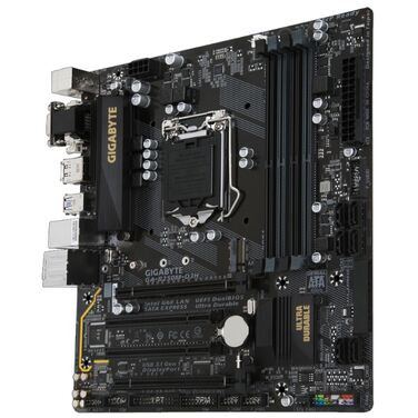 Материнская плата Soc-1151 Gigabyte GA-B250M-D3H B250/ 4xDDR4 2-CH/ PCI-Ex16/ Micro ATX/ USB3.1 GEN