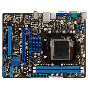 Материнская плата Soc-AM3+ Asus M5A78L-M LX3 AMD760G DDR3 mATX AC'97 8ch GbLAN RAID VGA RTL