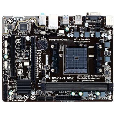 Материнская плата Soc-FM2+ Gigabyte GA-F2A68HM-S1 A68H/2xDDR3-2133 МГц/1xPCI-Ex16, 4xSATA/2xUSB 3.0,