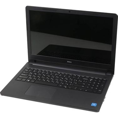 Ноутбук DELL Inspiron 3552 N3710/4GB/500G/15,6''HD/DVD-SM/Linux (3552-0569) Black