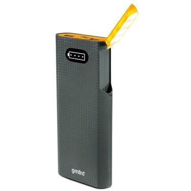 Мобильный аккумулятор Gmini GM-PB156L, Black + Orange, 15600mAh, встроенная лампа для чтения