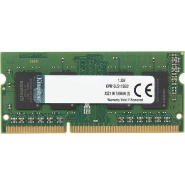 Память 2Gb DDR3 SODIMM 1600MHz Kingston 1Rx16 PC3L-12800S-11-13-C3 (OEM)