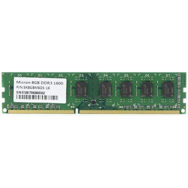 Память 8Gb DDR3 1600MHz Micron PC3-12800, SK8GBM8D3-16
