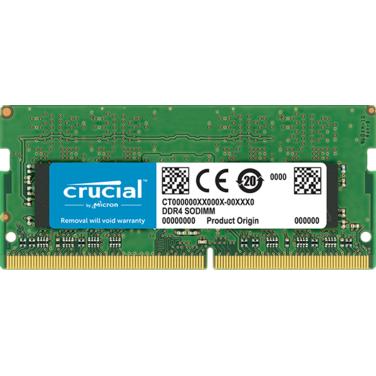 Память 8Gb DDR4 SODIMM 2133MHz Crucial PC4-19200 CL17 260-pin (CT8G4SFS824A) RTL