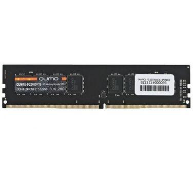 Память 8Gb DDR4 2400MHz QUMO PC-19200 1Gx8 CL16 288P (QUM4U-8G2400P16)
