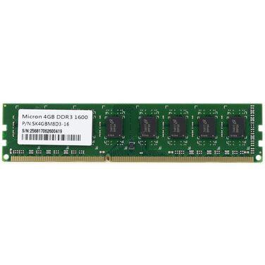 Память 4Gb DDR3 1600MHz Micron (SK4GBM8D3-16) oem
