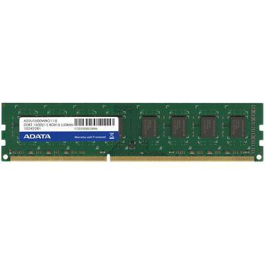 Память 8GB DDR3 1600MHz ADATA DIMM AD3U1600W8G11-S Non-ECC, CL11, 1.5V, RTL