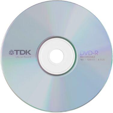 Диск DVD-R TDK 4.7Gb 16x
