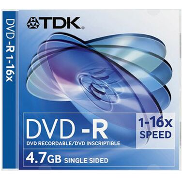 Диск DVD-R TDK 4.7Gb 16x Box