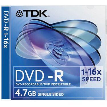 Диск DVD-R TDK 4.7Gb 16x 2шт. Box