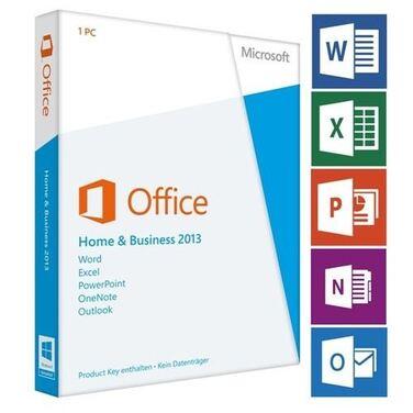 Программное обеспечение Microsoft Office 2013 Home and Business PKC 1ПК