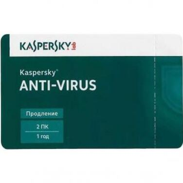 Антивирус Kaspersky Anti-Virus 2016 Russian Edition.2-Desktop 1 year Renewal Card (KL1167ROBFR)