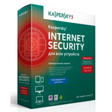 Антивирус Kaspersky Internet Security Multi-Device Russian Edition.2-Device 1 year Renewal Box (KL19