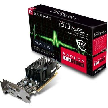 Видеокарта 4Gb Sapphire Pulse Radeon RX 550 4GD5 Low Profile