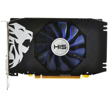 Видеокарта 4Gb HIS AMD Radeon RX 560 GREEN iCooler OC 4G, HS-560R4S, RTL