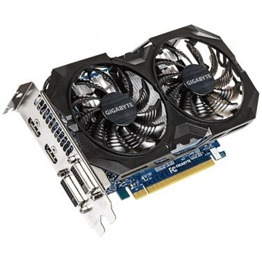 Видеокарта 4Gb Gigabyte GeForce GTX 750Ti OC WindForce 2X, GDDR5, 128 bit (GV-N75TWF2OC-4GI) RTL
