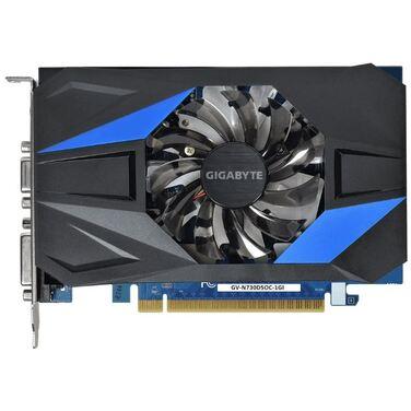 Видеокарта 1Gb Gigabyte GeForce GT 730 64bit GDDR5 902/5000 DVI/HDMI/VGA [GV-N730D5OC-1GI]