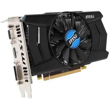 Видеокарта 2Gb MSI AMD Radeon R7 250 R7 PCI-E/ 2G DDR3/ Armor FAN/ SL-DVI-D/ HDMI/ D-SUB (R7 250 2GD