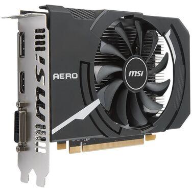 Видеокарта 2Gb MSI Radeon RX 550 ITX 2G OC AERO, GDDR5