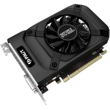 Видеокарта 4Gb Palit PA-GTX1050Ti StormX 4G, PCI-E 3.0 7000Mhz 128 bit (NE5105T018G1-1070F)