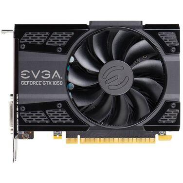 Видеокарта 2Gb EVGA GeForce GTX 1050, GDDR5 ACX,DVI-D+HDMI+DP (02G-P4-6150-KR) RTL