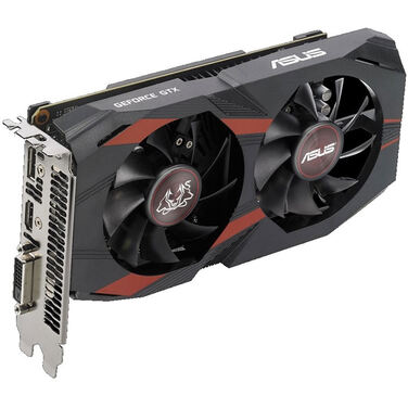 Видеокарта 4Gb Asus GeForce GTX 1050 Ti CERBERUS 4 Гб GDDR5 (CERBERUS-GTX1050TI-A4G) RTL