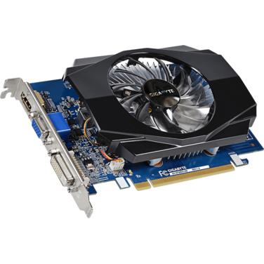 Видеокарта 2Gb PCI-E Gigabyte GeForce GT 730 64b DDR3 993/1800 DVI/HDMI/D-SUB GV-N730D3-2GI (RTL)