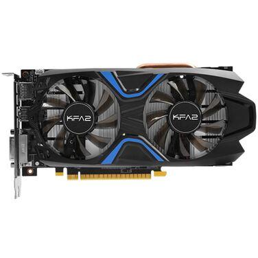Видеокарта 4Gb KFA2 GeForce GTX1050Ti EXOC, DDR-5 (50IQH8DVN6EK), RTL