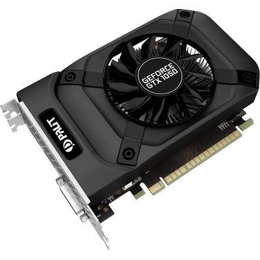 Видеокарта 2Gb Palit GeForce GTX 1050 StormX GDDR5/ 128-bit/ DVI HDMI RTL