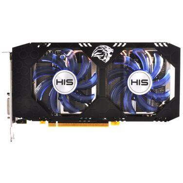 Видеокарта 8Gb HIS Radeon RX 580 IceQ X² OC (HS-580R8LCBB) OEM