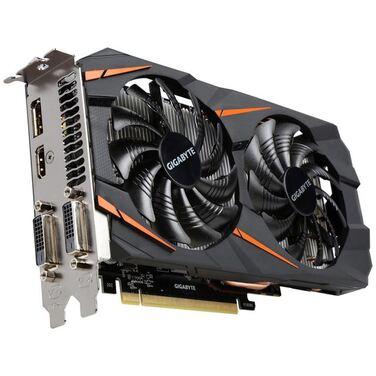 Видеокарта 6Gb Gigabyte GeForce GTX 1060 Winforce OC, GDDR5, 192 bit, GV-N1060WF2OC-6GD RTL